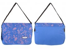 PH-1105 BLUE JEEP LADIES DELUXE COURIER BAG BLUE