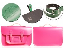 15 PINK MAGNETIC SATCHEL W/HANDLE