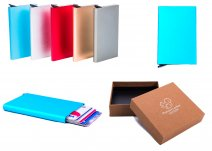 C-SECURE CASE RFID BLUE CARD HOLDER
