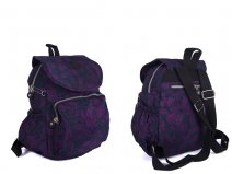 2504 PURPLE BOWS LORENZ BACKPACK