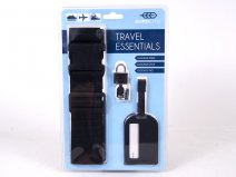 JBACC06 BLACK TRAVELS ESSENTIALS