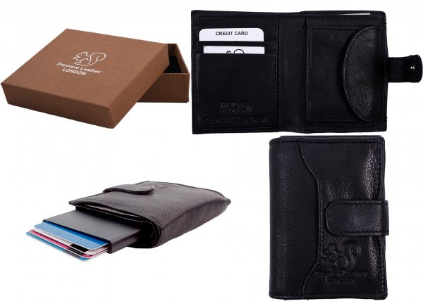 RL 9009 RFID C-SECURE CASE WALLET BLACK A