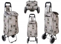 MLST06 CATS SHOPPING TROLLEY W/ 2 WHEELS