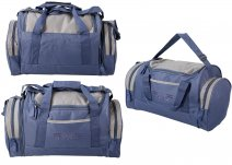 JBSB07A NAVY/GREY BORDERLINE VENTUREPAK 1000 HOLDALL