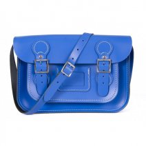 11 CIRCLE OXFORD BLUE SATCHEL