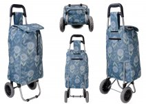 MLST06 DAISY SHOPPING TROLLEY W/ 2 WHEELS