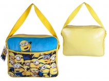 MINIONS001044 Kids Shoulder Bag Yellow/Sky Blue Minions