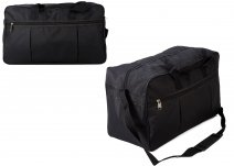 TB-103 BLACK HOLDALL W/ SHOULDER STRAP
