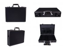 6931 BLACK Aluminium Exec/Laptop case