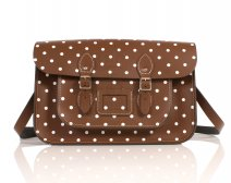 RL15 CHESTNUT BROWN POLKA DOT ENGLISH