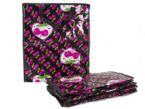 PP15 CHERRY PRINT SHOPPING BAG SET OF 12
