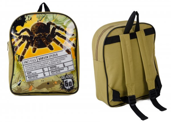 DEADLY001001 BABOON SPIDER CHILDREN'S BACKPACK