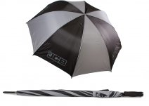 UMB-36 JCB GOLF UMBRELLA BLACK/GREY