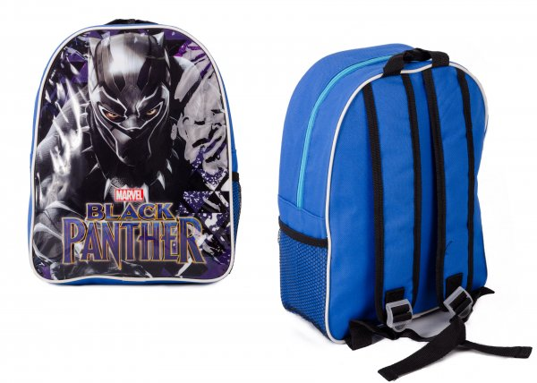 1029HV-8353 Black Panther Childrens Backpack