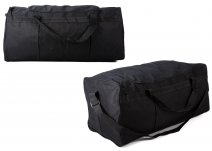 TB-105 BLACK HOLDALL W/ SIDE POCKETS
