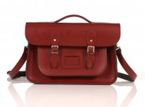 RL14 BRIEFCASE ENGLISH RED