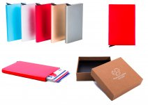 C-SECURE CASE RFID RED CARD HOLDER
