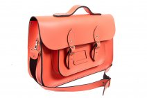 15 SALMON MAGNETIC SATCHEL W/HANDLE
