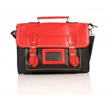 JBPS46 RED-BLACK WITH HANDLE - J148