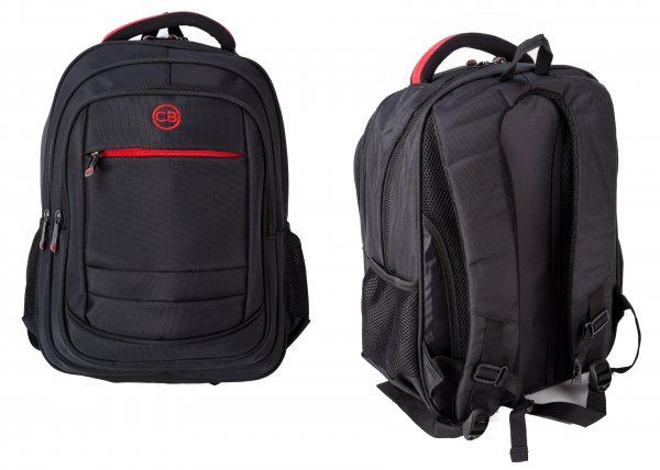 BP830S-AB BLACK BACKPACK W/LAPTOP SLEEVE