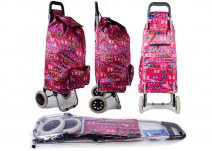 ST-BFP-02 BUTTERFLY RED 2 WHEEL SHOPPING TROLLEY