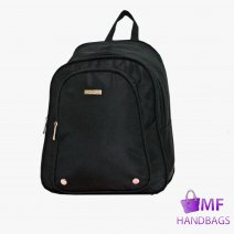 2056 Micro Fibre Triple Zip Backpack