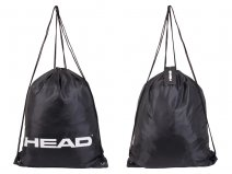 901011 181 Gym Sack Drawstring Black - H062