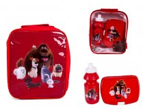 4105V-6217 Kids Lunchbag Red Secret Life of Pets Iluminat