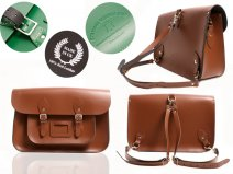 15 BACKPACK CHESTNUT BROWN OXBRIDGE SATCHEL