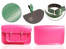 15 PINK MAGNETIC SATCHEL NO HANDLE