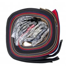 2794 DOZEN CANVAS BELT WITH MATCHING BUCKLE & TIP