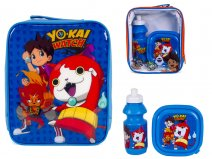 4105v-6667 Kids Lunchbag Blue YoKaiWatch G010