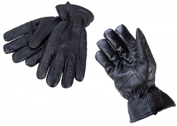 8926 Extra Large Black Leather Gloves w/ Thinsulate lining