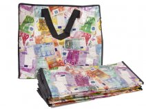 2474 MONEY PRINT MEDIUM LAUNDRY BAG SET OF 12