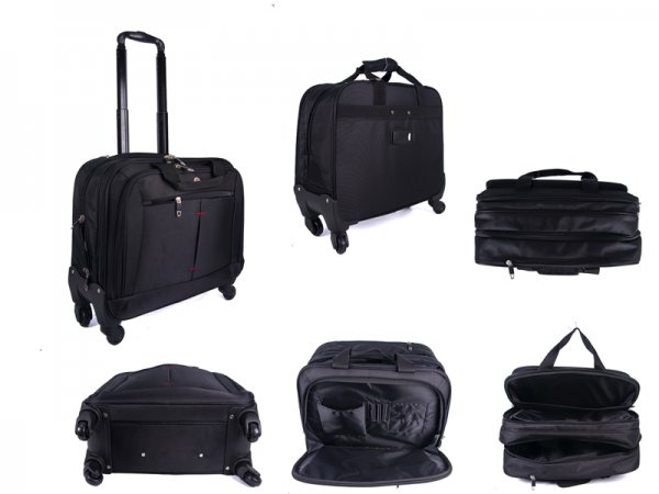 "LT075 TASSIA 16"" LAPTOP PILOT CASE"