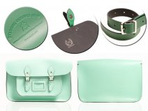"12"" MINT MAGNETIC SATCHEL NO HANDLE"