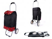 6958 RED OWL 2 WHEEL SHOPPING TROLLEY