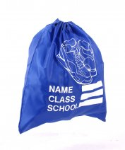 SHOE SCHOOL GYM BAG ROYAL BLUE