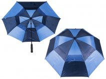 2817 Contrast Golf Umbrella with Wind Flaps BLUE