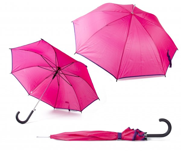 2813 PINK UMBRELLA W/ BUTTON
