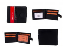 DM 10 100% LEATHER RFID WALLET
