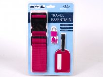 JBACC06 PINK TRAVELS ESSENTIALS