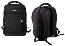 BP855-AB BACKPACK W/LAPTOP SLEEVE & 4 ZIPS