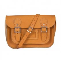 11 CIRCLE ORANGE SATCHEL