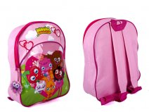 B77301 Pink Kids Backpack Moshi Monsters