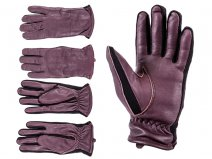 8917 BURGUNDY Ladies Sheep Nappa Gloves EXTRA LARGE