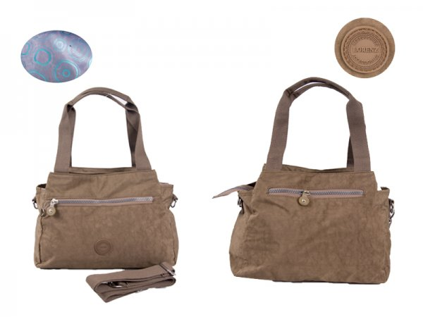 2531 DETACHABLE CRINKLE NYLON BLUE BROWN