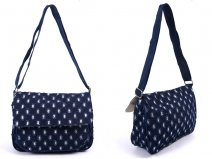 LJ-012 RIP JEANS LILLY & JANE CANVAS BAG