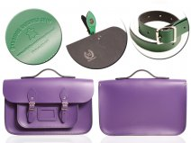 15 DEEP PURPLE MAGNETIC SATCHEL W/HANDLE