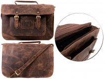 100% Leather Satchel
